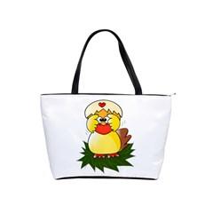 Coming Bird Large Shoulder Bag