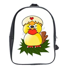 Coming Bird Large School Backpack