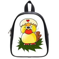Coming Bird Small School Backpack