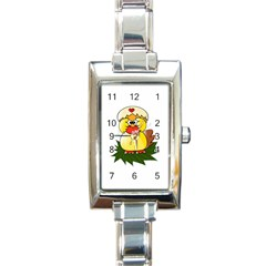 Coming Bird Classic Elegant Ladies Watch (Rectangle)