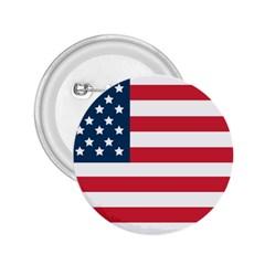 Flag Regular Button (Round)