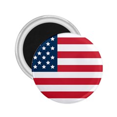 Flag Regular Magnet (Round)