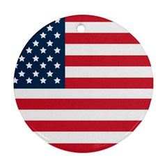 Flag Ceramic Ornament (Round)