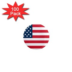 Flag 100 Pack Mini Magnet (round)