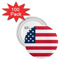 Flag 100 Pack Small Button (round)