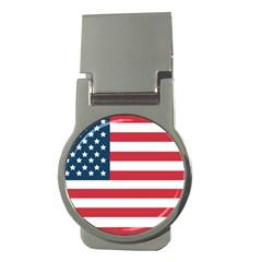 Flag Money Clip (Round)