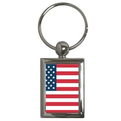 Flag Key Chain (Rectangle)