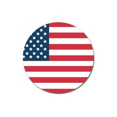 Flag Large Sticker Magnet (round)