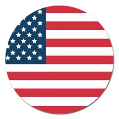Flag Extra Large Sticker Magnet (Round)