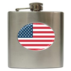 Flag Hip Flask
