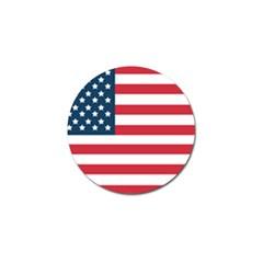 Flag 4 Pack Golf Ball Marker
