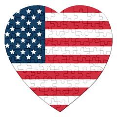 Flag Jigsaw Puzzle (heart)