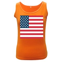 Flag Dark Colored Womens'' Tank Top