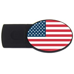 Flag 4Gb USB Flash Drive (Oval)