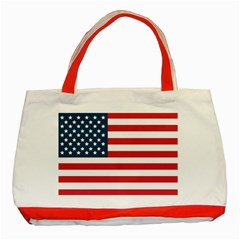 Flag Red Tote Bag