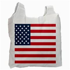 Flag Single Sided Reusable Shopping Bag