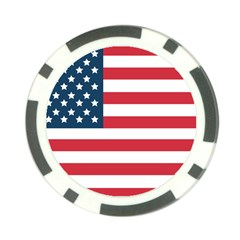 Flag 10 Pack Poker Chip