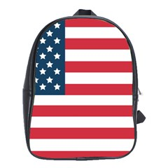 Flag Large School Backpack