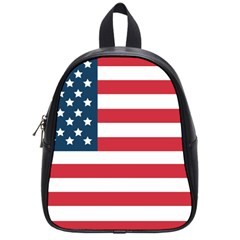 Flag Small School Backpack