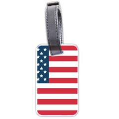 Flag Single-sided Luggage Tag