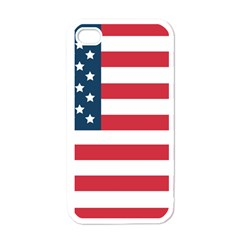 Flag White Apple iPhone 4 Case