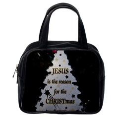 Jesus Is The Reason Single Sided Satchel Handbag