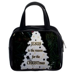 Jesus Is The Reason Twin Sided Satched Handbag