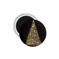 Christmas Tree Sparkle Jpg Small Magnet (Round)