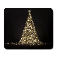 Christmas Tree Sparkle Jpg Large Mouse Pad (rectangle)