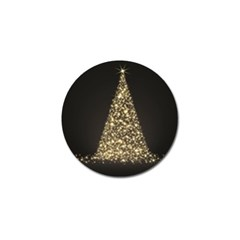 Christmas Tree Sparkle Jpg Golf Ball Marker