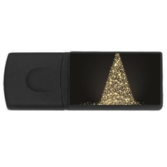 Christmas Tree Sparkle Jpg 2Gb USB Flash Drive (Rectangle)