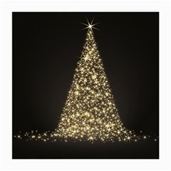 Christmas Tree Sparkle Jpg Single-sided Large Glasses Cleaning Cloth