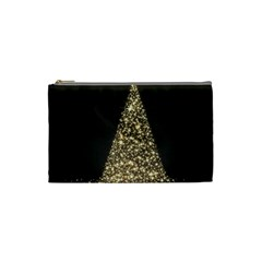 Christmas Tree Sparkle Jpg Small Makeup Purse