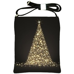 Christmas Tree Sparkle Jpg Messenger Bag