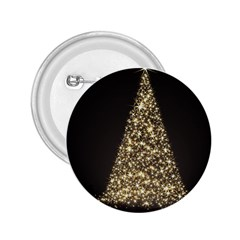 Christmas Tree Sparkle Jpg Regular Button (Round)