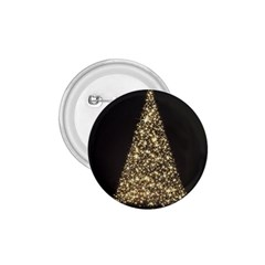 Christmas Tree Sparkle Jpg Small Button (round)