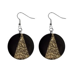 Christmas Tree Sparkle Jpg Mini Button Earrings