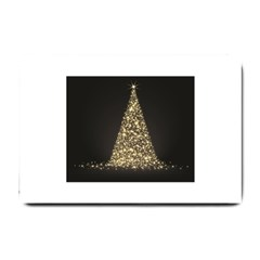 Christmas Tree Sparkle Jpg Small Door Mat
