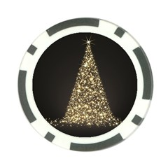 Christmas Tree Sparkle Jpg Poker Chip