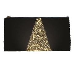 Christmas Tree Sparkle Jpg Pencil Case