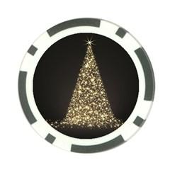 Christmas Tree Sparkle Jpg 10 Pack Poker Chip