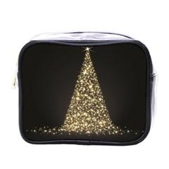 Christmas Tree Sparkle Jpg Single Sided Cosmetic Case
