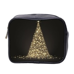 Christmas Tree Sparkle Jpg Twin-sided Cosmetic Case