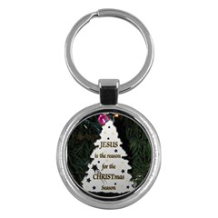 Jesus Is The Reason Key Chain (round)