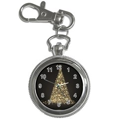 Christmas Tree Sparkle Jpg Key Chain & Watch