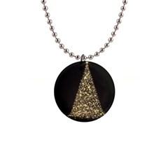 Christmas Tree Sparkle Jpg Mini Button Necklace