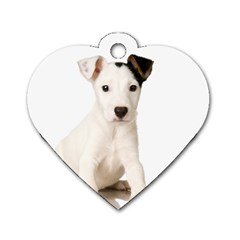 55190649 Twin Sided Dog Tag (heart)