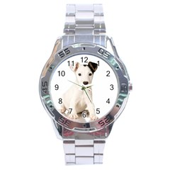 55190649 Stainless Steel Analogue Watch (round)