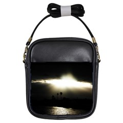 Sunset Glory Girls Sling Bag