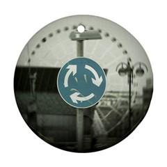 6685055993 28ed461c93 B Ceramic Ornament (round)